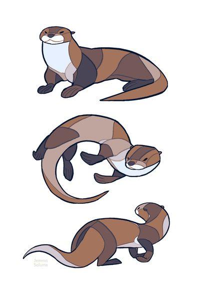 Otter Art Print   Body Works   Pinterest   Herramientas, Pintar y ...