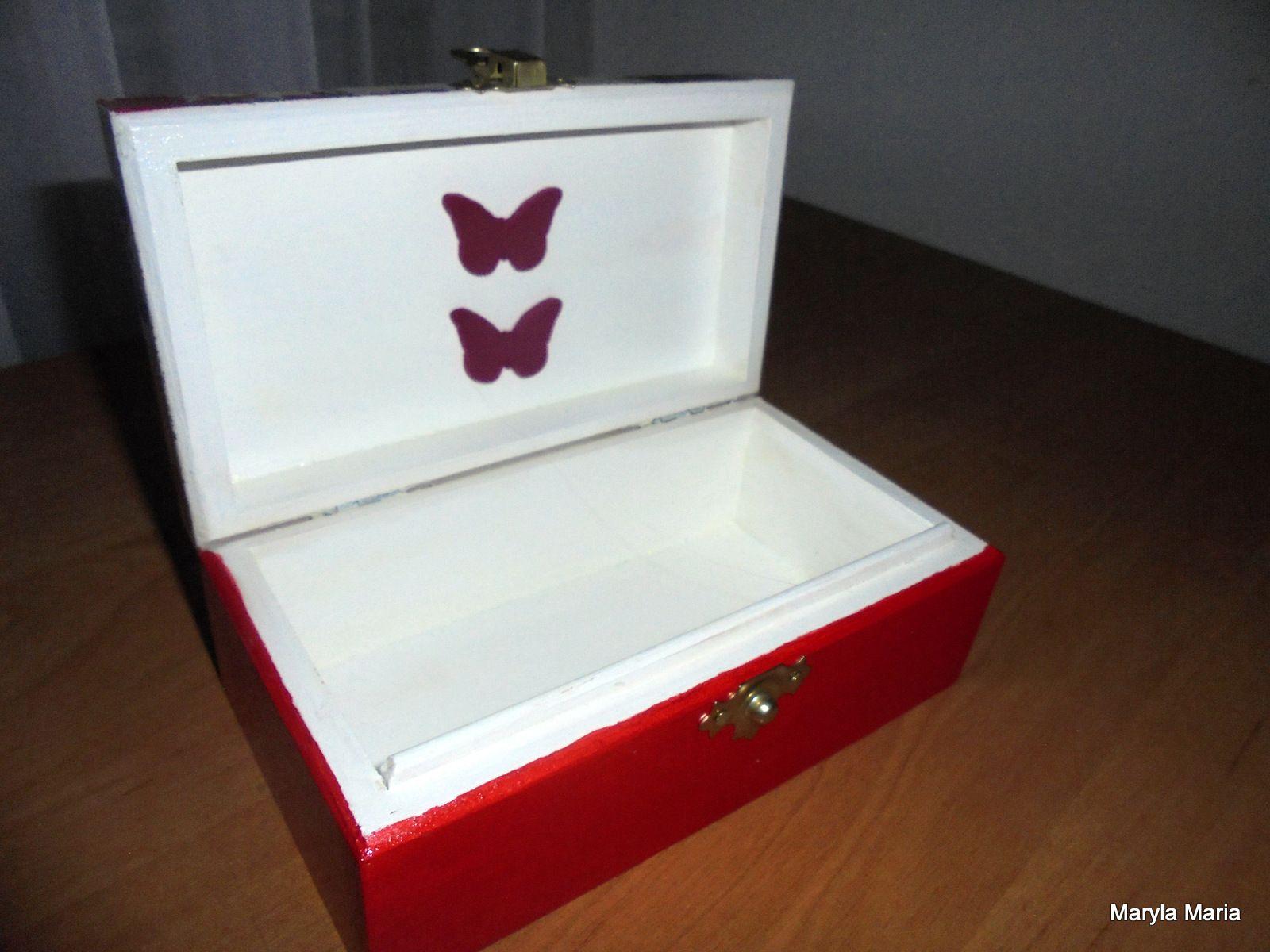 Hobby- mój Decoupage / pudełko / kasetka // Hobby- my Decoupage / box / casket