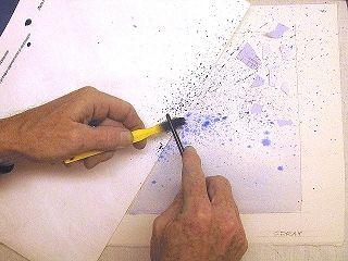 Watercolor Splatter Texture Tutorial © 2009 Gregory Conley