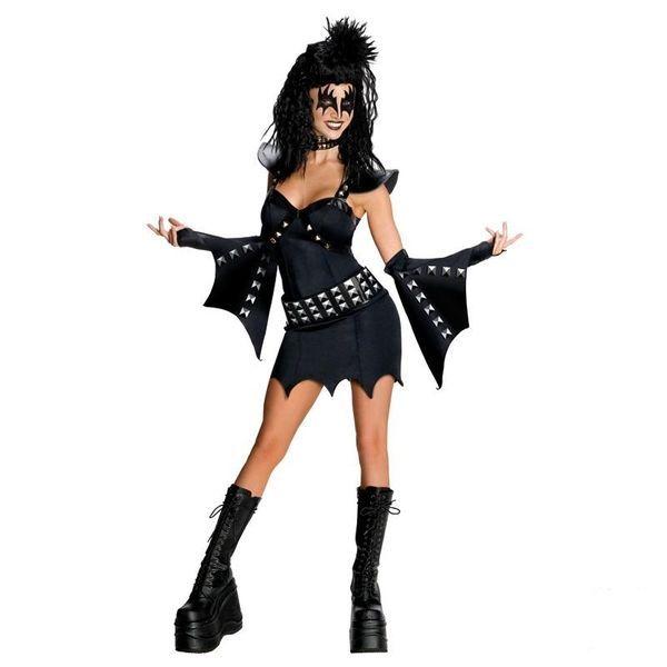 Naamiaisasu; KISS Deluxe; The Demon Lisensoitu Gene Simmonsin KISS Deluxe naisten asu The Demon. Muutu Hevikuningattareksi hetkessä tässä upeassa asussa. Takuuvarma bileiden ykkösasu ja KINGITÄR. Lick it Up ja siitä se lähtee. #naamiaismaailma