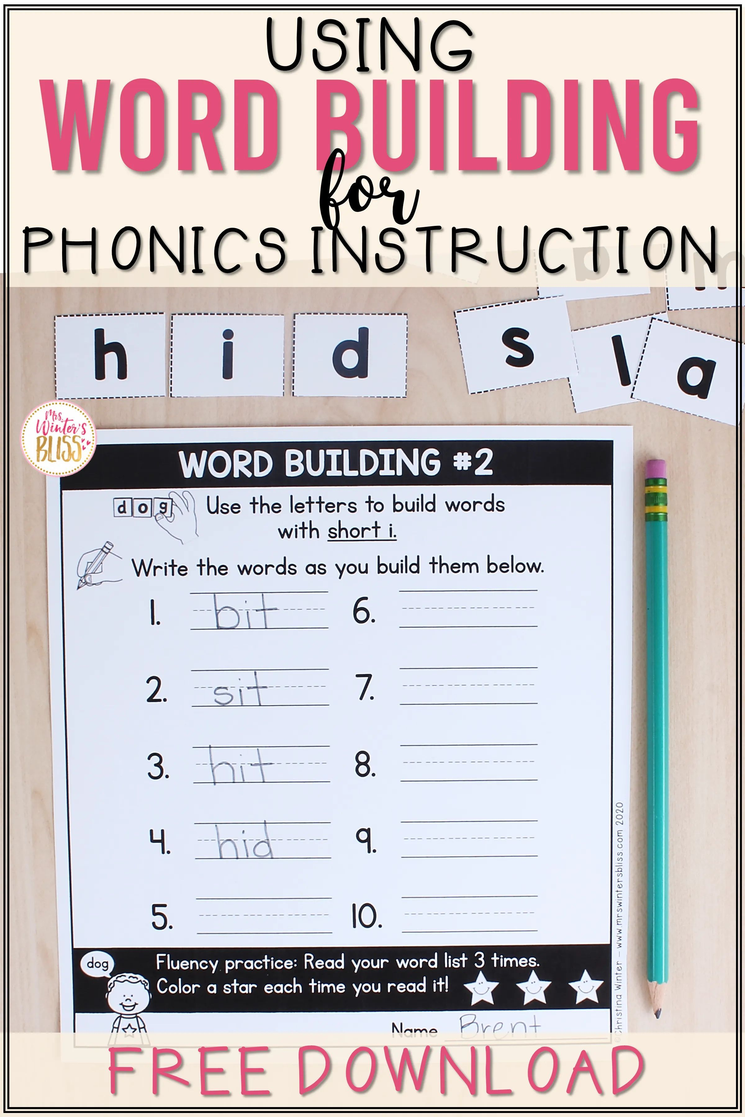 Read The Instructions Worksheet Trick   Printable Worksheets and Activities  for Teachers [ 3600 x 2400 Pixel ]