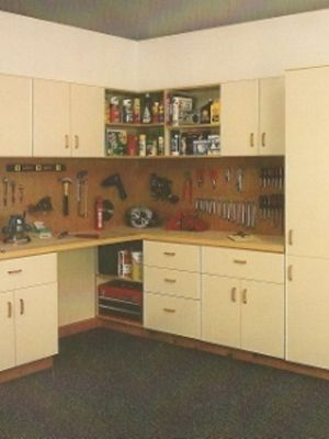 Wonderful Garage Workspace And #storage! Not A Craftsman? Let Us Hel! # Calclosets