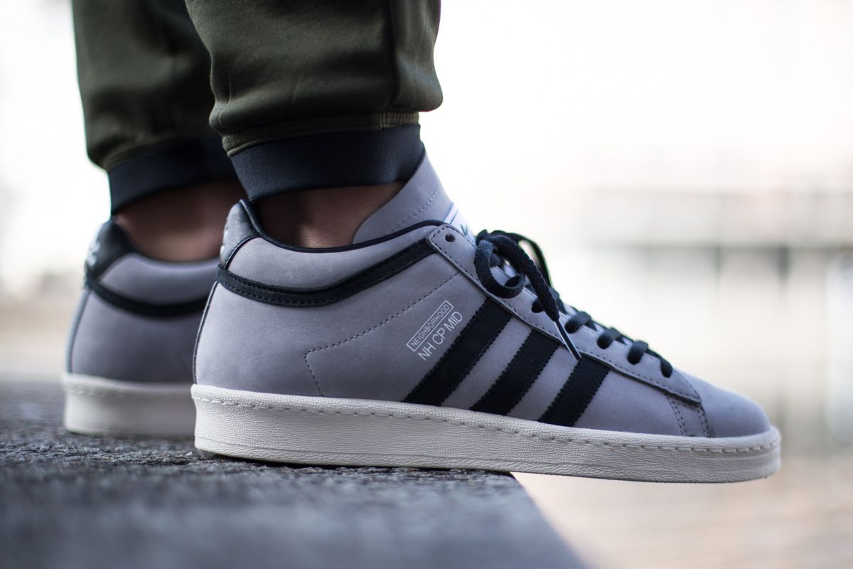 huge selection of 38af3 02bba Neighborhood x adidas Campus 80s Mid