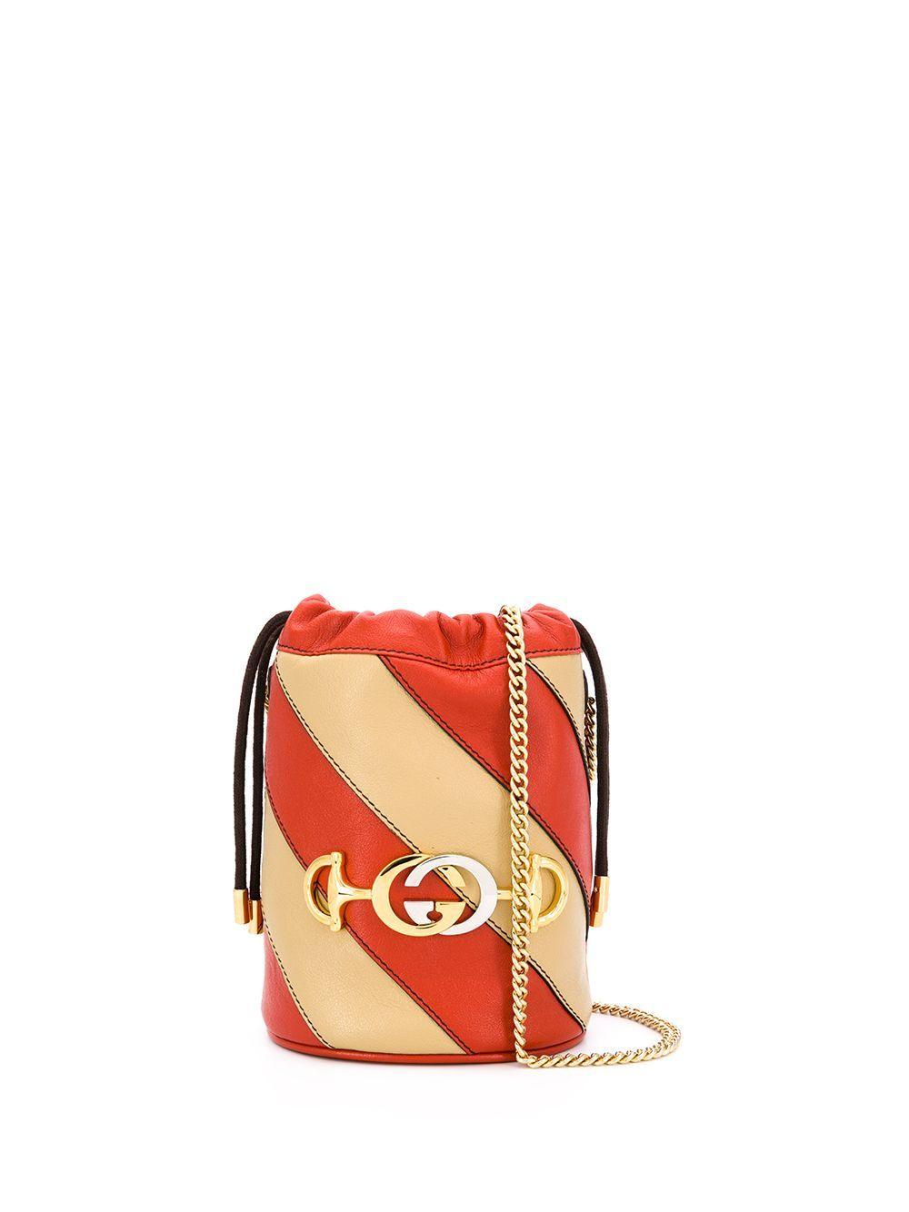 Gucci Mini Zumi Bucket Bag Farfetch In 2020 Bucket Bag Bags Gucci