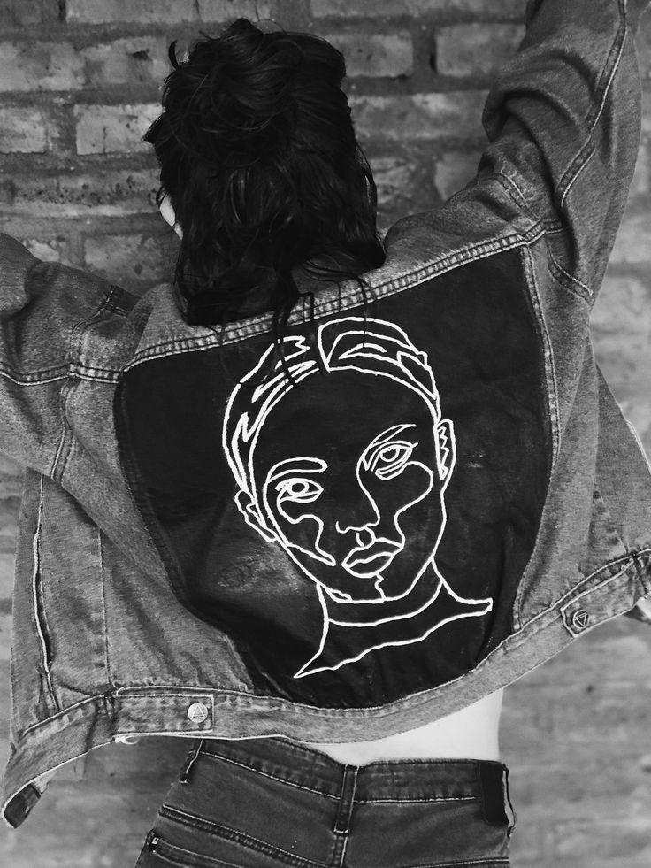 Diy gemalte Jeansjacke  #gemalte #jeansjacke -  #DIY #gemalte #jeansjacke #jeanjacketoutfits