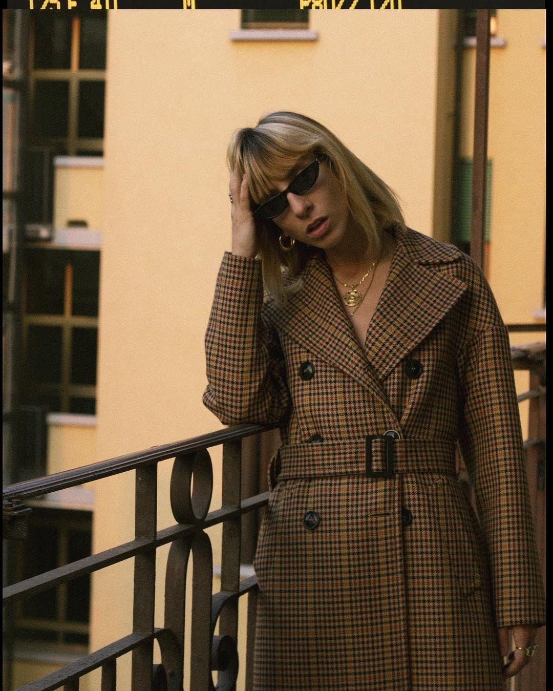 e715719fb25f Veronica Giomini spotted in our Signature Mini Cat-eye Sunglasses ...