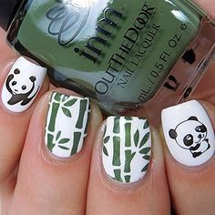 Whats up nails bamboo nail stencils stickers vinyls for nail art whats up nails bamboo nail stencils stickers vinyls for nail art design 1 sheet prinsesfo Gallery