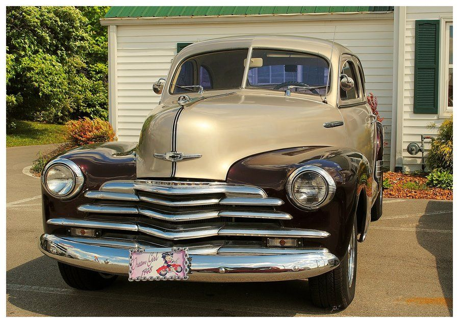 1948 Chevy by =TheMan268 on deviantART | carz | Pinterest | Cars and ...