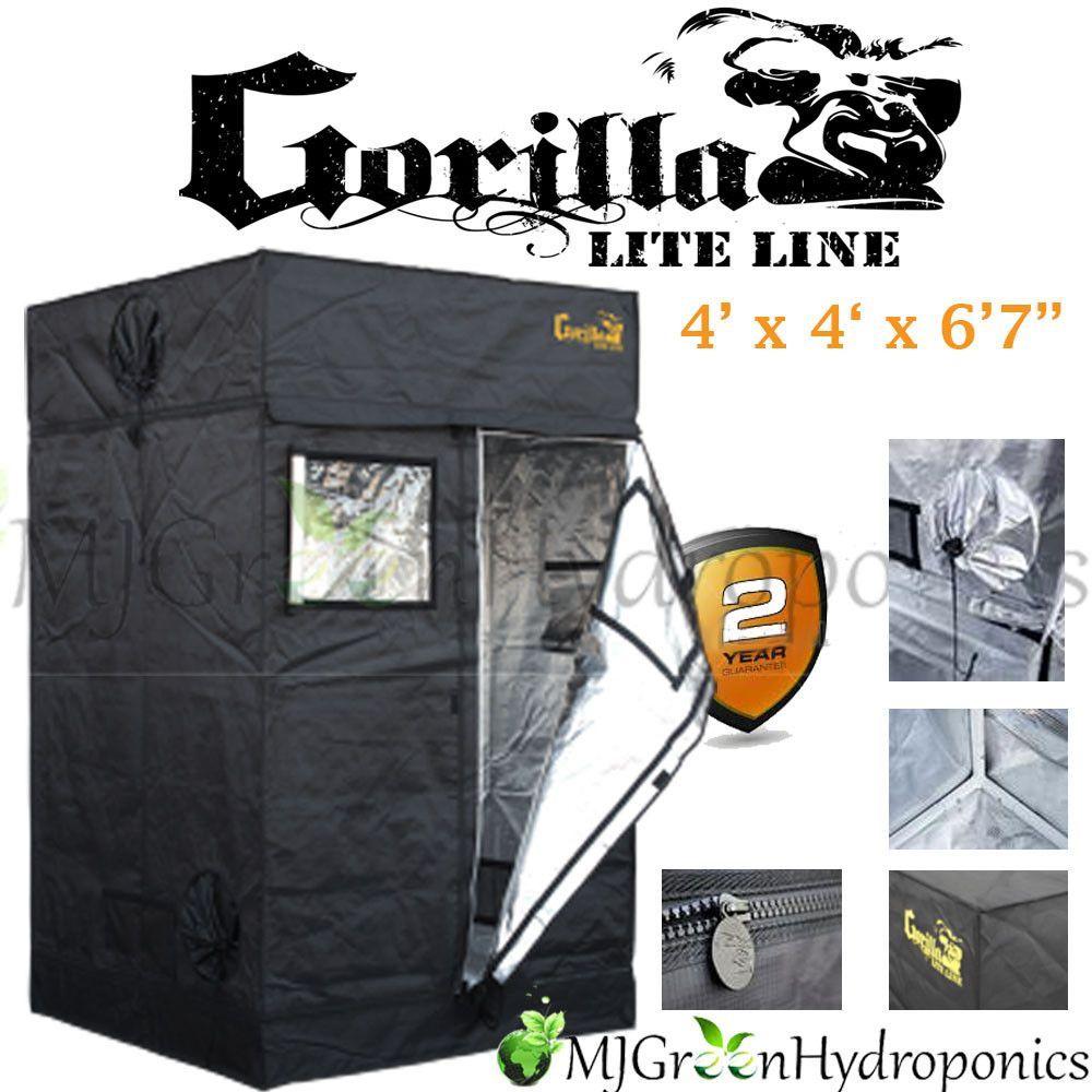 Gorilla Grow Tent - LITE LINE - Indoor Grow Tent 4 x 4  sc 1 st  Pinterest & Gorilla Grow Tent - LITE LINE - Indoor Grow Tent 4 x 4 | Grow tent