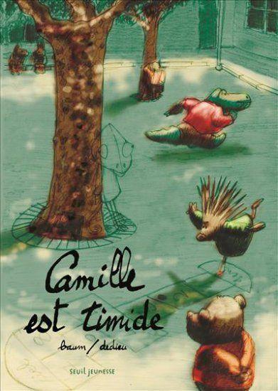 Camille est timide - Thierry Dedieu, Gilles Baum, Seuil, oct 2015