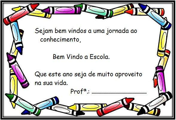 Blog Educacional Profª Jezaine Cartao Volta As Aulas Em 2020