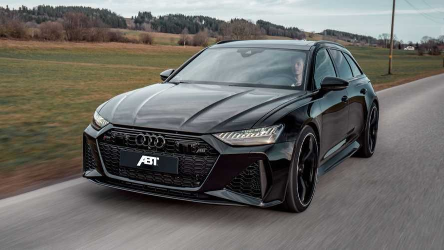2020 Audi Rs6 Avant By Abt Is A Sinister 690 Hp Super Wagon In 2020 Audi Rs6 Audi Rs6 Wagon Audi