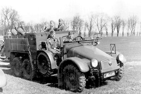 Krupp Protze Kfz. 70