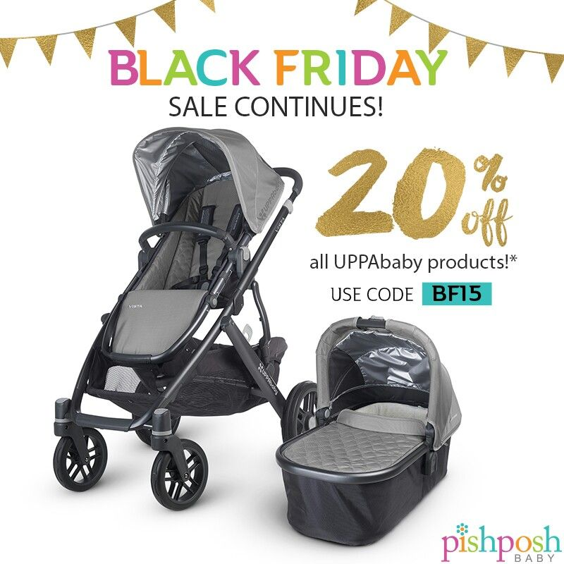 Black Friday Sale Continues Save 20 On All UPPAbaby Products Starting At Midnight