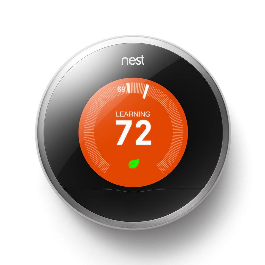 Shop Nest Learning Thermostat With Built In Wifi At Lowes Com