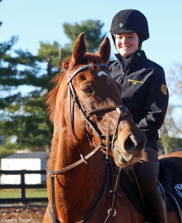 The New Vocations Pony Club Challenge Horses, Horse