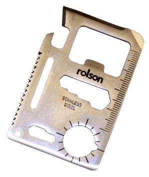 Rolson Survival Card Tool: Amazon.co.uk: DIY & Tools
