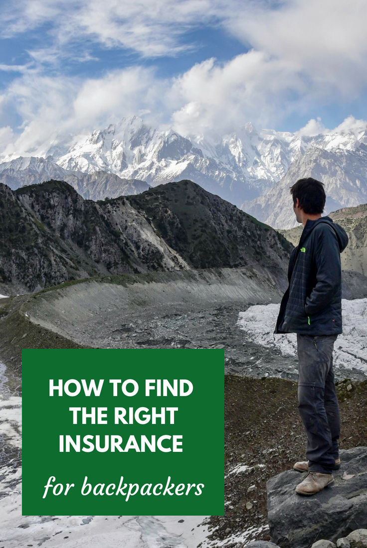 How To Find The Right Backpacking Travel Insurance Comparison