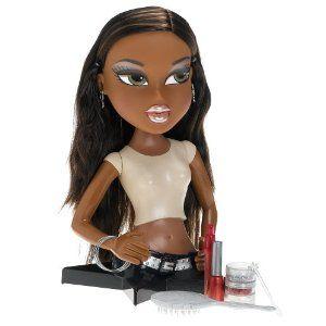 Bratz Forever Diamondz Sasha Styling Makeover Head Torso Doll Toy Bratz Forever Diamondz Style Makeover Makeover
