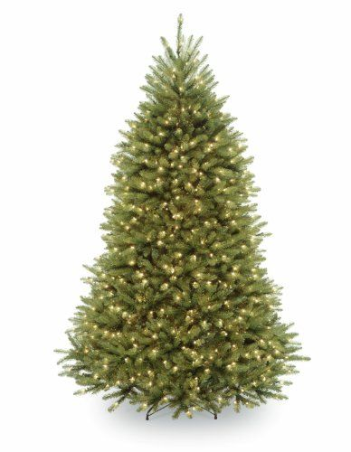 National Tree Company 7-1/2-Feet Dunhill Fir Tree with 700 Dual-Color LED Lights and Foot Switch - List price: $495.99 Price: $346.77 Saving: $149.22 (30%) + Free Shipping