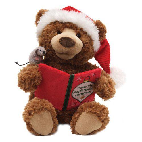 "Gund Fun Christmas Storytime Bear Animated 13"" Plush Gund http://www.amazon.com/dp/B00BV3OLLE/ref=cm_sw_r_pi_dp_eoYlub0SQ3W36"
