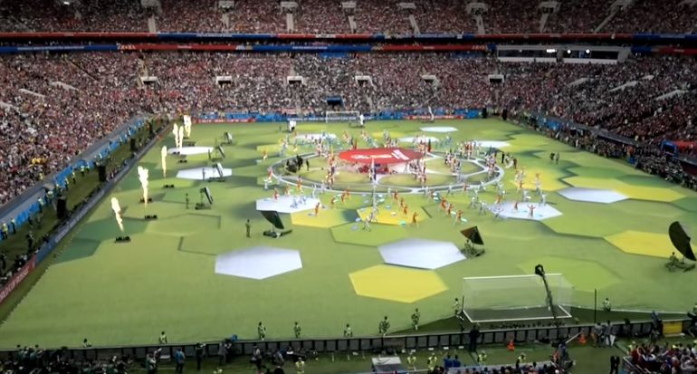 Video Fifa World Cup 2018 Opening Ceremony Fifa World Cup World Cup Opening Ceremony