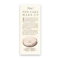 1935 Max Factor's pan Cake