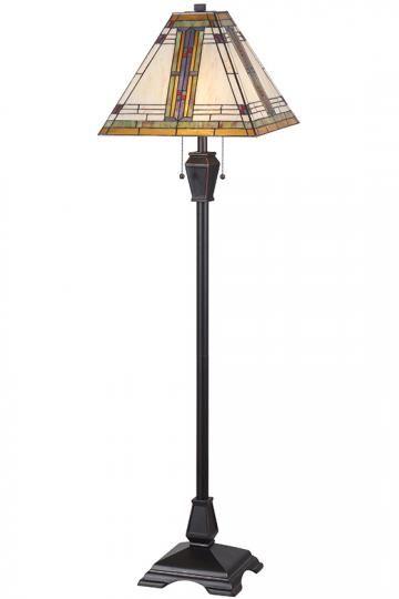 Pratt Floor Lamp Art Deco Lamps Tiffany Style Lamps