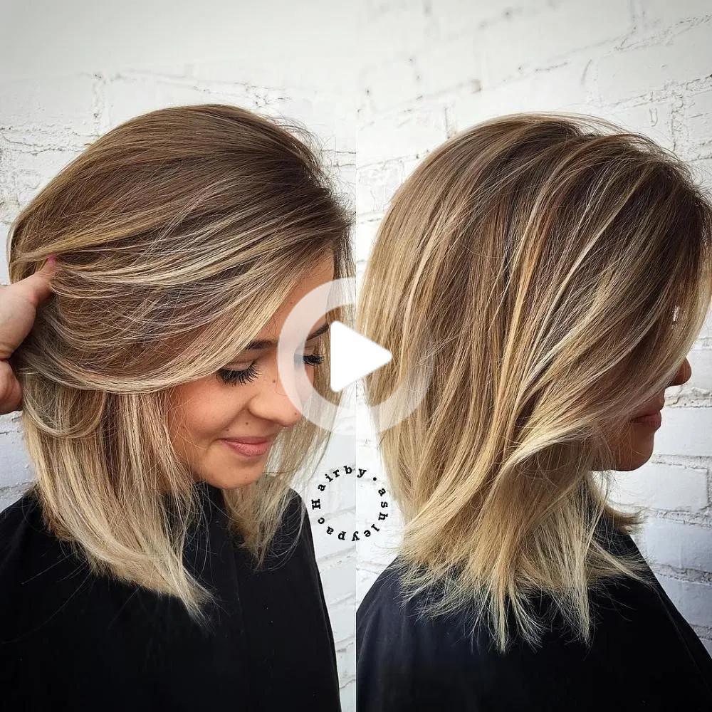 40 Beste Frisuren Mittellang 2019 Mit Schulterlange In 2020 Medium Hair Styles Thin Hair Haircuts Hair Styles