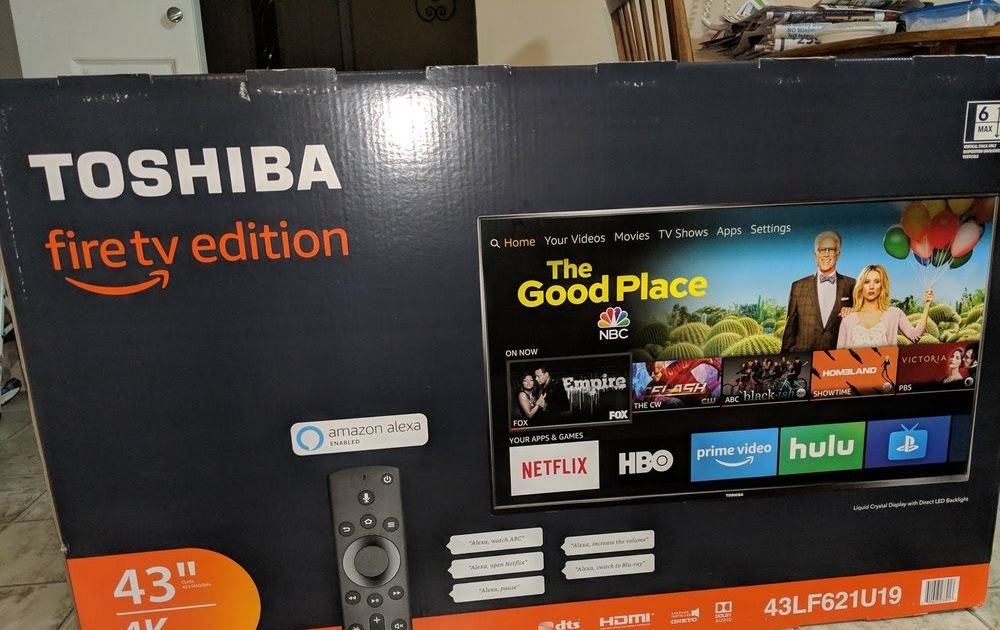 12be76869a7 Toshiba 43-Inch 4K Ultra HD Smart LED TV with HDR-Fire Edition NEW ...