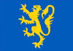 Flaga Zachodniej Ukrainy. (Proponowana-Wzorowana na fladze Księstwa Halicko-wołyńskiego)