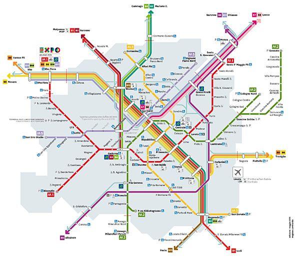 Metronetz Mailand Mailand Tipps Mailand Mailand Italien