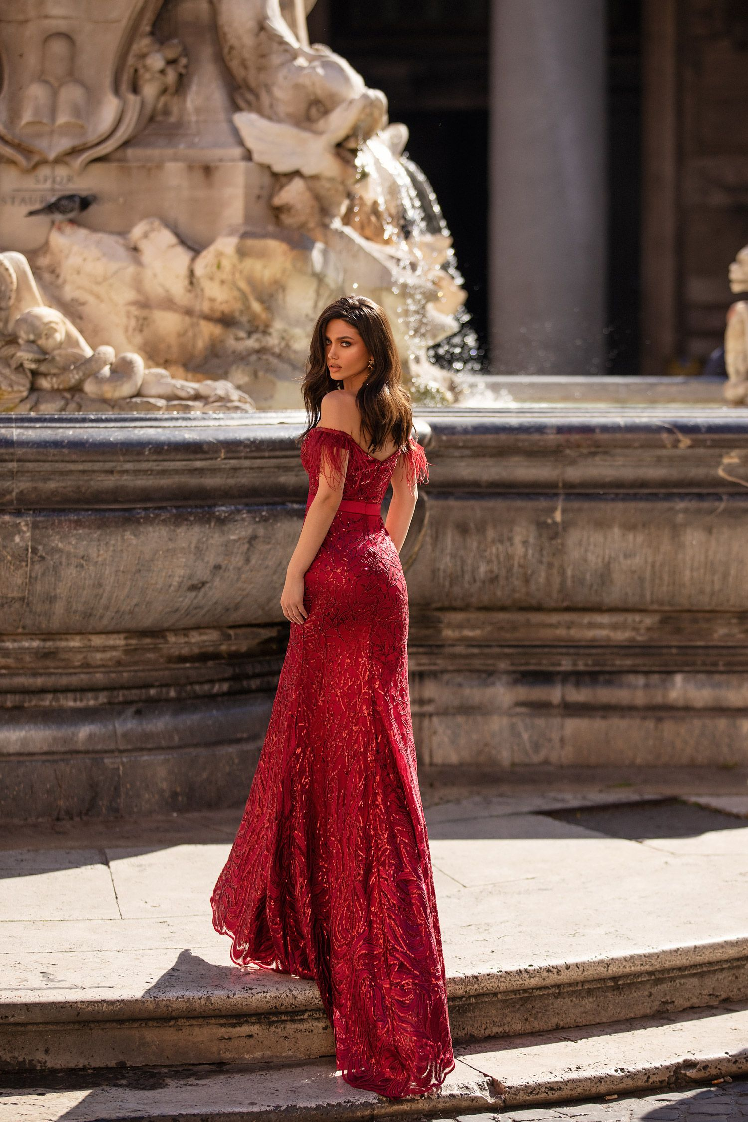 Natale Wine Red In 2020 Night Dress For Women Sweet 16 Dresses Fashion