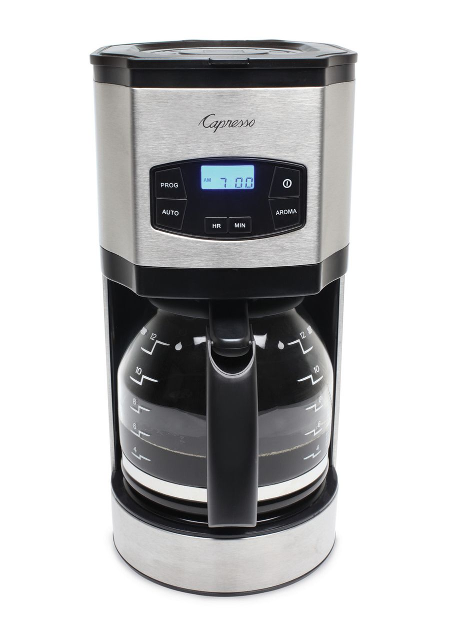 Sg120 12 Cup Coffee Maker Capresso 12 Cup Drip Coffee Maker Brews 12 Cups Of Coffee In Under 10 Minutes For Stainless Steel Coffee Maker Coffee Maker Capresso
