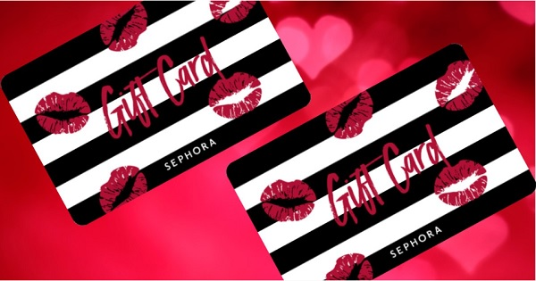 Win a 500 Sephora gift card this Valentine's Day! in 2020