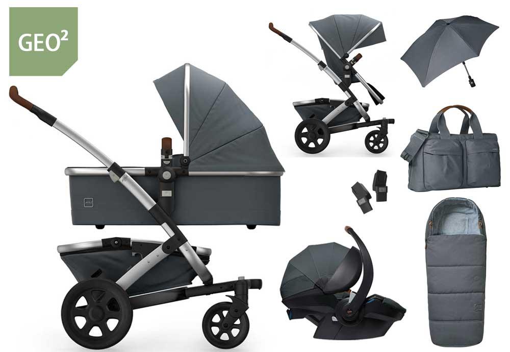 Joolz Geo 2 7in1 set with Joolz baby car seat (mit