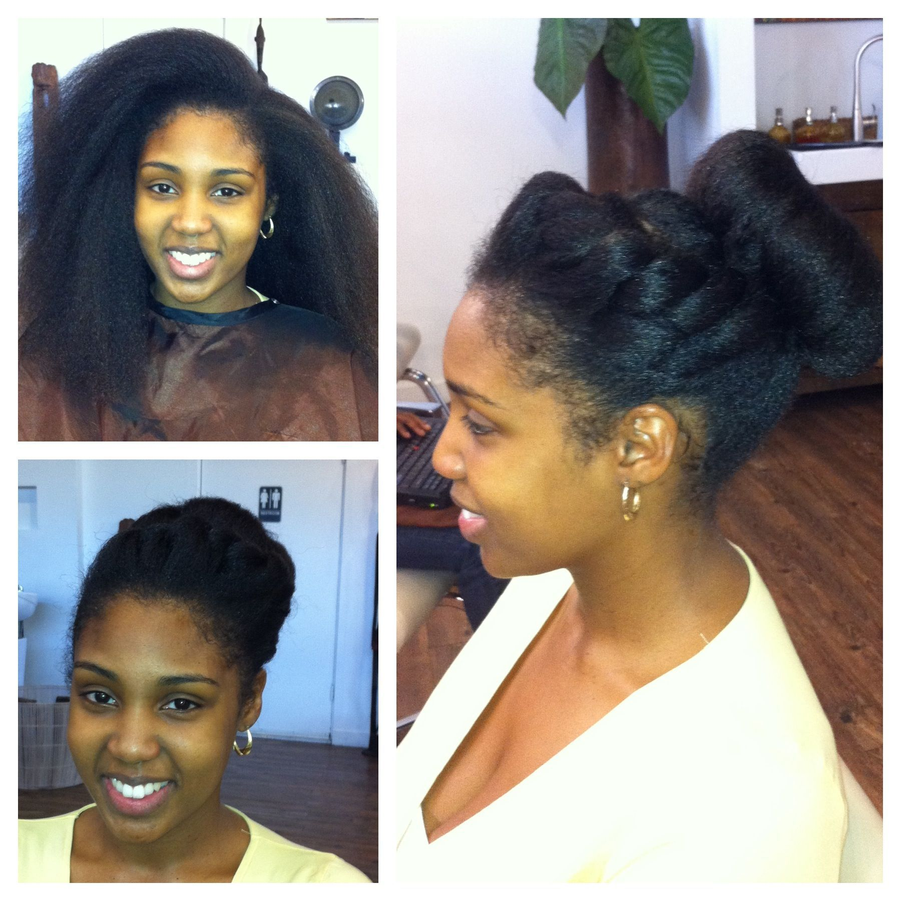 Blow Out And Trim Natural Hair Styles Easy Natural Hair Styles