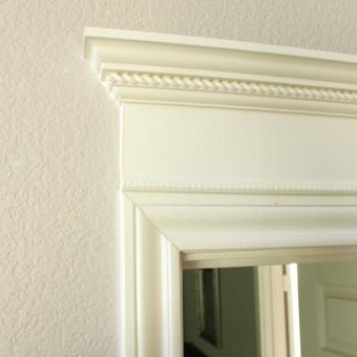 How To Make Doors Pretty With Molding Molding Home Home Projects Indoor Doors