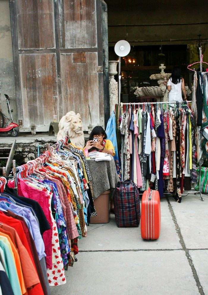 The Train Market Bkk Bangkok To Do Vintage Outfits Clothes