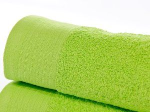 100% Egyptian Cotton 600 GSM Bath Towel in Lime Green: Amazon.co.uk: Kitchen & Home