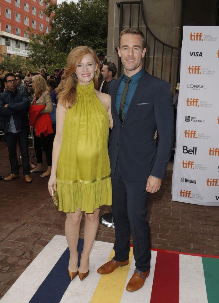 Kimberly Van Der Beek Left And James Van Der Beek Arrive At The Premiere Of Labor Day On Day 3 Of International Film Festival Celebrity Style Film Festival