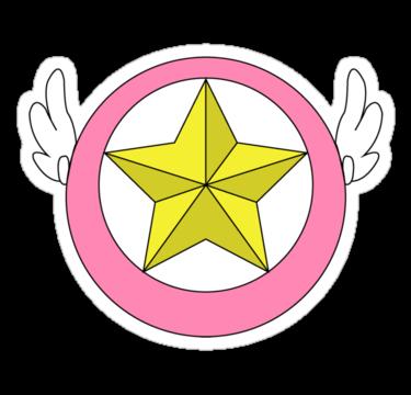 Cardcaptor Sakura Star Wand Sticker By Scarlethue Cardcaptor Sakura Sakura Card Cardcaptor