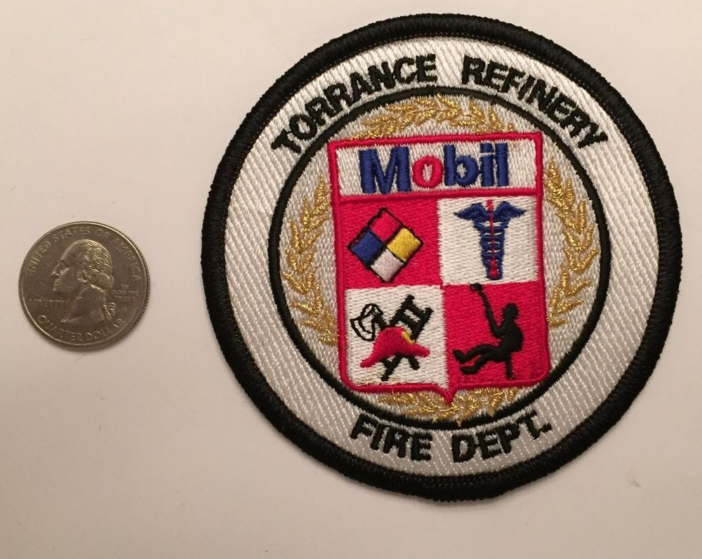 Exxon mobil torrance california refinery fire department firefighter exxon mobil torrance california refinery fire department firefighter patch ca buycottarizona Gallery