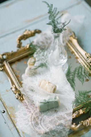 Bridal session styling details ⎪Olga Siyanko and Natalia Savtyra⎪see more on: http://burnettsboards.com/2015/08/blue-botanical-bridal-boudoir/