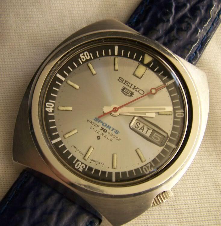 Seiko 5 Sports Sportsdiver 6119 6020 June 1969 Vintage Seiko Watches Best Watches For Men Watches For Men