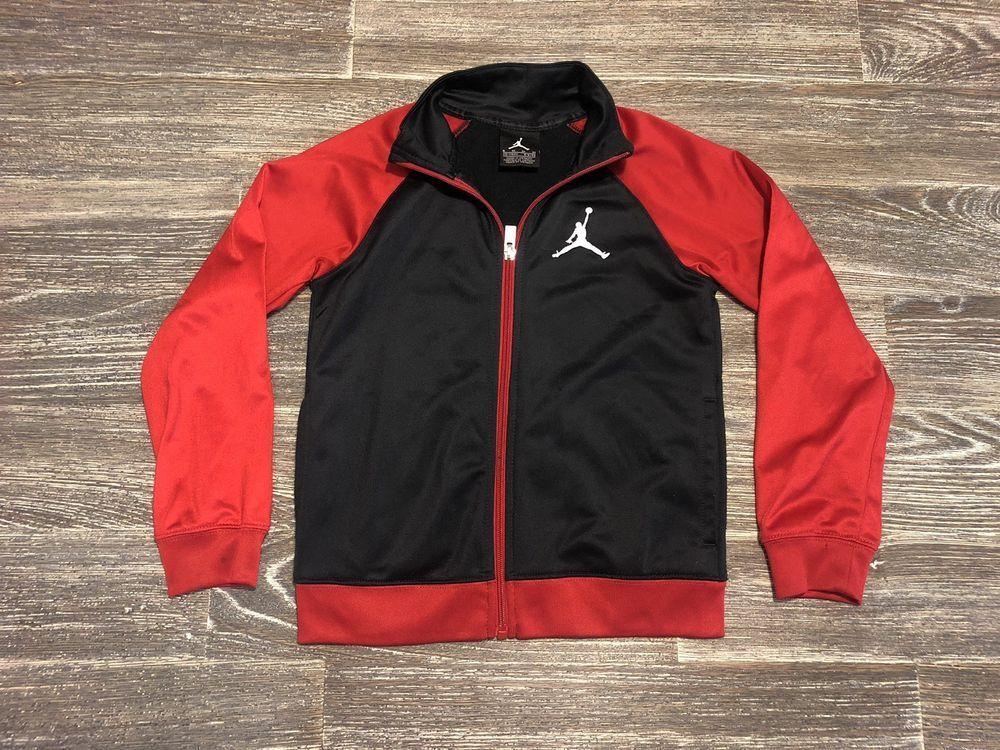 ee62ba7033af Toddler Boys Jordan Jumpman Jacket Size Medium 5-6 Black Red  fashion   clothing  shoes  accessories  kidsclothingshoesaccs  boysclothingsizes4up  (ebay link)