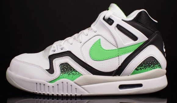 brand new 66919 56542 Nike Air Tech Challenge II Poison Green Hitting Retailers