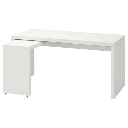 Micke Desk White 55 7 8x19 5 8 Ikea White Paneling Ikea Malm Desk Malm