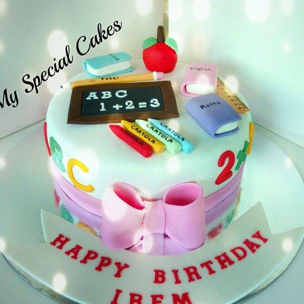 myspecialcakes Teacher Cake Webstagram PartiesSuperbowl food