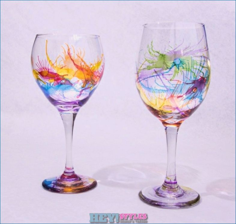 Top 10 Diy Decorations For Your Wine Glass Diy Wine Glass Wine Glass Crafts Decorated Wine Glasses